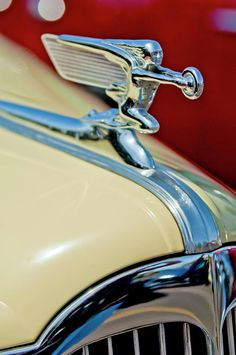 1940 Packard Hood Ornament - Car Photography by Jill Reger..Re-pin....Brought to you by Agents of #CarInsurance at #HouseofinsuranceEugene