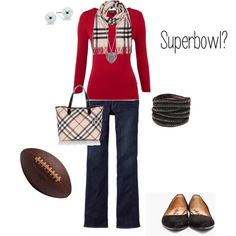 Superbowl Outfit :)
