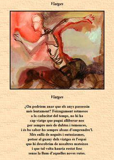 Poema Viatges de Miquel Martí i Pol. Marti, Moriarty, Movie Posters, Frases, Poems, Literatura, Reading, Quotes, Film Poster