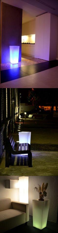 Śwecące donice - LED Pots  ...więcej na www.LEDco.pl