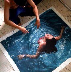 O Impressionante efeito da água na pintura hiper realista de Gustavo Silva Nuñez