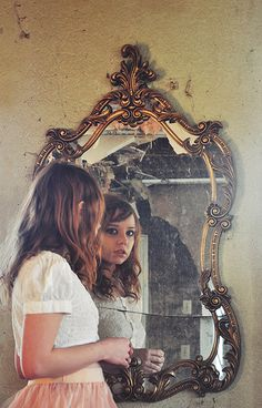 Great Images Using Mirrors To Create Interesting Portraits