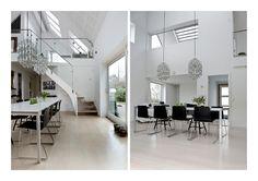 Parcelhus fra 1960'erne med vokseværk. Familien i parcelhuset fra 1960'erne ønskede sig mere plads og udvidede med en ekstra etage på 85 m2.