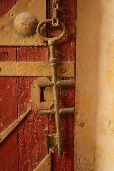 Old Key Hanging, Coptic Cairo, Egypt by Dave Halley, 2010