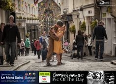Was challenged to capture Liberation Day in a single image. #LoveGuernsey #LibDay   http://chrisgeorgephotography.dphoto.com/#/album/cbc2cr/photo/23216834  Picture Ref: 09_05_14 — at St Peter Port, Guernsey.