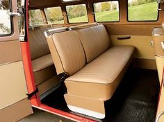 brown interior vw bus - Google Search