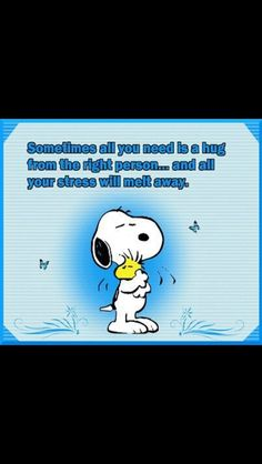 Have you hugged someone today?......start with yourself......pass it on.