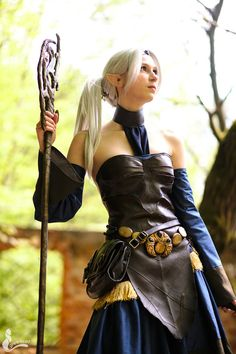 Share My Cosplay, #Cosplayer Elenya frost as aMage from #DragonAge....