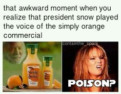 ORANGE JUICE? THINK AGAIN! POISON!