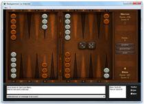 Image du jeu Backgammon sur Internet