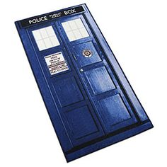 Ruggy-wuggy | Doctor Who Rugs are nearly six feet of TARDIS goodness for your home, dorm room, or office