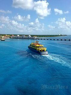Cozumel, aboard the Allure