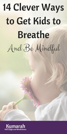 14 Clever Ways to Breathe with Your Kids to Calm Down Teach kids how to be Mindful with 14 excellent breathing techniques. Breathing can help children wake up, calm down, notice their emotions and self-soothe in times of trouble. Mindfulness For Kids, Mindfulness Activities, Teaching Mindfulness, Mindfulness Exercises, Breathing Techniques, Meditation Techniques, Easy Meditation, Mindfulness Meditation, Mindfulness Quotes