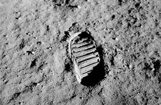 """Footprint On The Moon 1969--On July 20, 1969, mankind left its footprint for the first time on a body that was not the Earth. Astronaut Neil Armstrong made history—he was the first man to ever set foot on the lunar surface, a feat which would have been laughed at a mere decades prior. The historical event was broadcast to a worldwide television audience, with Armstrong muttering the famous words, """"That's one small step for [a] man, one giant leap for mankind."""""""
