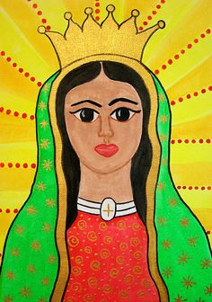 Virgen Morena - ©2011 Lorena Angulo  - Watercolors