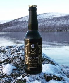 """@tornionpanimo on Instagram: """"Sentenced beer Ever-Frost soon available! Brewed by Tornion Panimo.  Thanks for the photo @vesarantaphotography  #tornionpanimo #sentenced…"""" Craft Beer Brands, Most Beautiful, Beautiful Places, Brewery, Beer Bottle, Saga, Frost, Traveling, Thankful"""