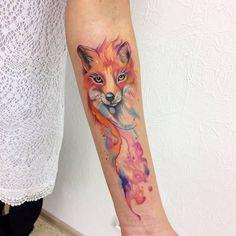 Fox Tattoo by victoriascarlet93