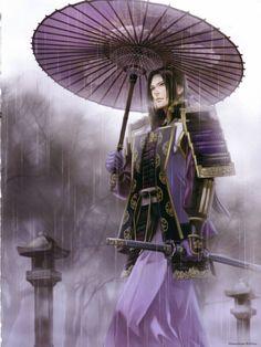 Mistuhide Akechi of Samurai Warriors
