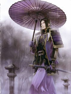Mistuhide Akechi of Samurai Warriors