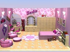 Barbie Bedrooms for Teenager Girls