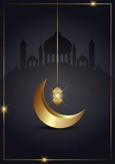 Vector islamic background | Free Vector Cherry Blossom Background, Pink And White Background, White And Pink Roses, Golden Background, Leaf Background, Wedding Background, Watercolor Background, Ramadan, Eid Card Designs