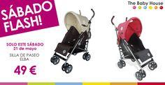 Nueva oferta especial en productos para tu bebé: sólo el 21 de mayo, silla de paseo Elba a 49 €