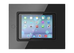 SquareDock - Prémiové iPad dokovacie stanice. Prvedenie čisté čierne sklo.
