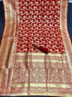 Silk Sarees, Banarasi Sarees, Cod, Free, Fabric, Pattern, Period, Quilts, Tejido