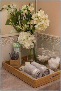 66+ Stunning Spa Bathroom Decorating Ideas 34 - decorhomesideas #bathroom#bathroomdecorating#bathroomideas