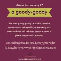 Idiom of the day: Learn Idioms every day - May series - English Idioms, English Phrases, Learn English Words, English Language, English Vinglish, English Tips, English Letter Writing, English Writing Skills, Book Writing Tips