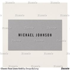 Classic Modern  Business Card Office Essentials, Modern Business Cards, Color Pop, Create Your Own, Card Making, Things To Come, Texts, Profile, Bring It On