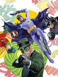 Batman e Besouro Verde dos anos 60 se reencontram - agora nos quadrinhos - Quadrinhos - Herói