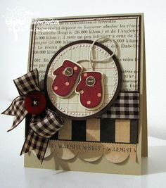 Love the mittens and colors on this card!