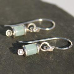 Reels  - silver and Amazonite earrings £15.00