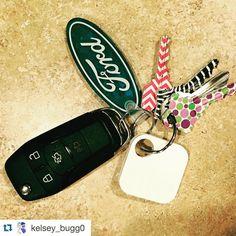 Cute keys! #Repost @kelsey_bugg0  Because I have the best boyfriend! :) #earlybirthdaypresent #tiledit #thebest #loveit #lovehim #tiledit  www.thetileapp.com