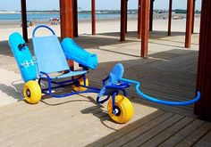 Amphibious wheelchair 1
