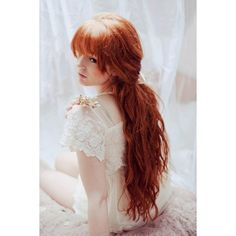 Red Hair ❤ liked on Polyvore featuring hair, cabelos, people, red hair and ginger