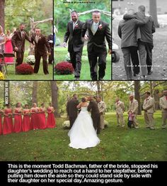 Faith in humanity restored- Faith in humanity restored - Sad Love Stories, Sweet Stories, Cute Stories, The Stepfather, Try Not To Cry, Human Kindness, Faith In Humanity Restored, Just Smile, Father Of The Bride