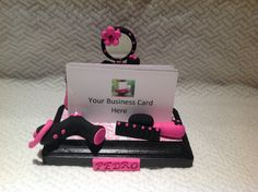 Business card holderbusiness by NaomisSweetStuff on Etsy