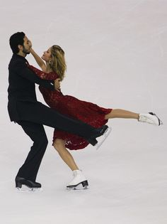 Tanith Belbin and Benjamin Agosto of USA skate in the Ice Dancing Compulsory Dance during the Cup of China Figure Skating competition, which is part of the ISU Grand Prix Figure Skating Series, held at Harbin International Conference Exhibition and Sports Center on November 8, 2007 in Harbin, China.  (November 8, 2007 - Source: Feng Li/Getty Images Sport)
