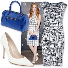 Look of the Day photo   OUTFIT 2: The Graphic Sheath