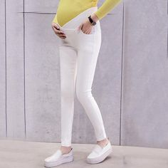 e53aa54bbbbcd Maternity Low Waist Abdomen Supportive Pants $23.99 USD Sale Size M to XXL Maternity  Pants,
