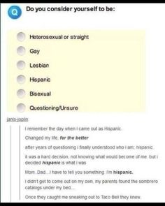 The day I came out as Hispanic