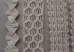 Macrame knots how do it info believe it or not i used to know how to do this Macrame Curtain, Macrame Plant Hangers, Macrame Bag, Art Macramé, Micro Macramé, Macrame Design, Macrame Projects, Macrame Patterns, Paracord