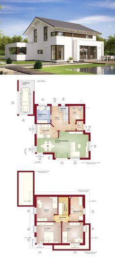 ELK Fertighaus 162  + extra 1 Schlafzimmer und 1 Badezimmer What