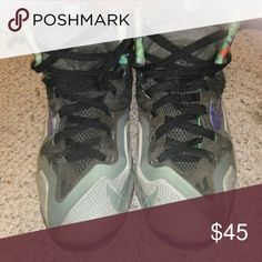LeBron 11 Terracotta warriors They in about 7/10 condition. Need new shoe laces. No logo on tounge (easily replaced). No fly wire(broken). No trades. Good project for a shoe restorer. Nike Shoes Sneakers