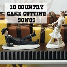 No Western themed wedding would be complete without the perfect Western Wedding Cake Topper. Here is a great selection of cake toppers to choose from. Cowboy Wedding Cakes, Funny Wedding Cake Toppers, Bride And Groom Cake Toppers, Wedding Topper, Cowgirl Wedding, Cake Wedding, Wedding Bride, Jeep Wedding, Wedding Scene