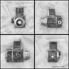 Hasselblad  500c Digital Sketsh