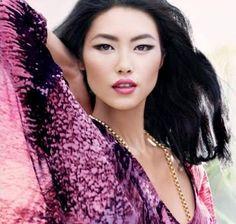 makeup Asian model - Makeup Asian Eyes Liu Wen 23 Ideas For 2019 Asian Makeup Monolid, Magenta, Best Lipstick Color, Asian Eyes, Exotic Beauties, Daily Beauty, Beauty Trends, Wedding Makeup, Prom Makeup