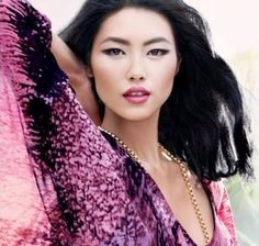 LOVE! I bet she is Chinese. Chinese models are so beautiful and skinny